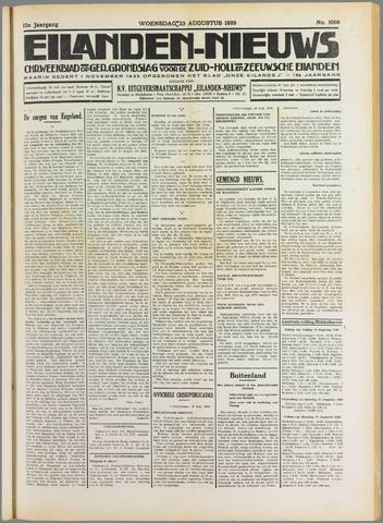 Eilanden-nieuws. Christelijk streekblad op gereformeerde grondslag 1939-08-23