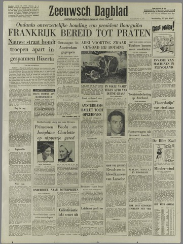 Zeeuwsch Dagblad 1961-07-27
