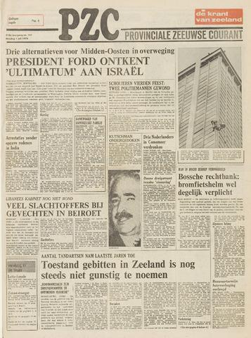 Provinciale Zeeuwse Courant 1975-07-01