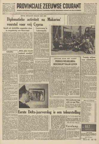 Provinciale Zeeuwse Courant 1958-09-24