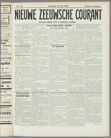 Nieuwe Zeeuwsche Courant 1906-07-21