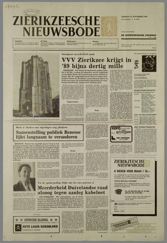 Zierikzeesche Nieuwsbode 1988-11-25
