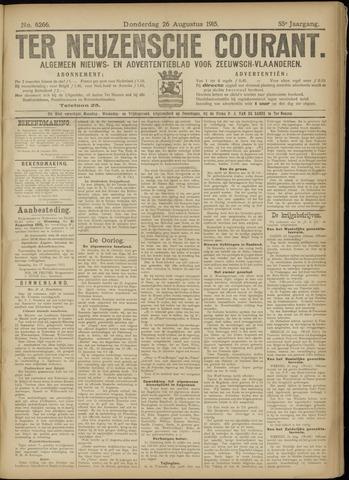 Ter Neuzensche Courant. Algemeen Nieuws- en Advertentieblad voor Zeeuwsch-Vlaanderen / Neuzensche Courant ... (idem) / (Algemeen) nieuws en advertentieblad voor Zeeuwsch-Vlaanderen 1915-08-26
