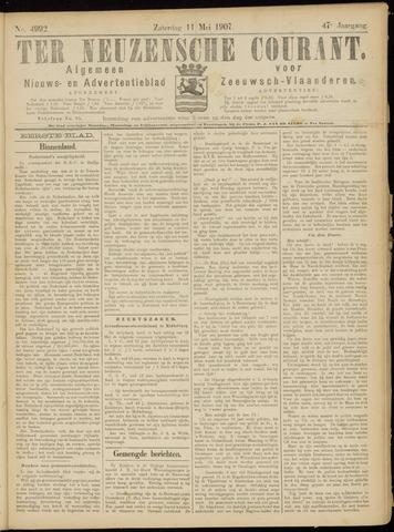 Ter Neuzensche Courant. Algemeen Nieuws- en Advertentieblad voor Zeeuwsch-Vlaanderen / Neuzensche Courant ... (idem) / (Algemeen) nieuws en advertentieblad voor Zeeuwsch-Vlaanderen 1907-05-11