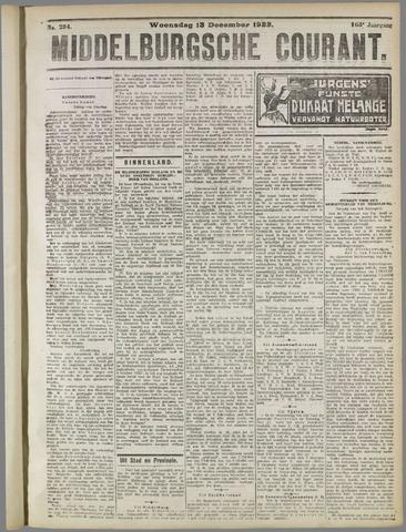 Middelburgsche Courant 1922-12-13