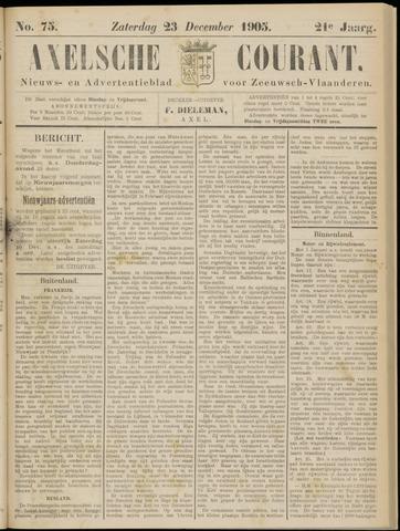 Axelsche Courant 1905-12-23