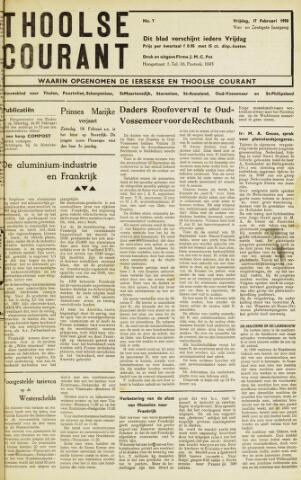 Ierseksche en Thoolsche Courant 1950-02-17