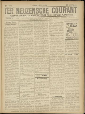 Ter Neuzensche Courant. Algemeen Nieuws- en Advertentieblad voor Zeeuwsch-Vlaanderen / Neuzensche Courant ... (idem) / (Algemeen) nieuws en advertentieblad voor Zeeuwsch-Vlaanderen 1928-06-01