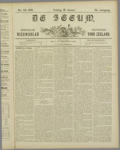 De Zeeuw. Christelijk-historisch nieuwsblad voor Zeeland 1901-01-18