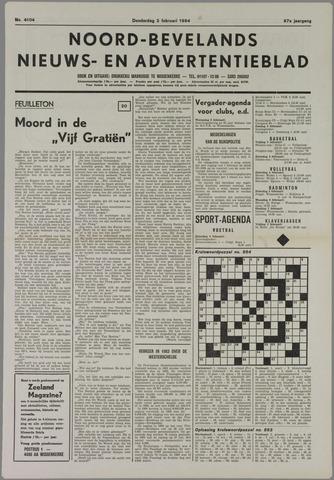 Noord-Bevelands Nieuws- en advertentieblad 1984-02-02