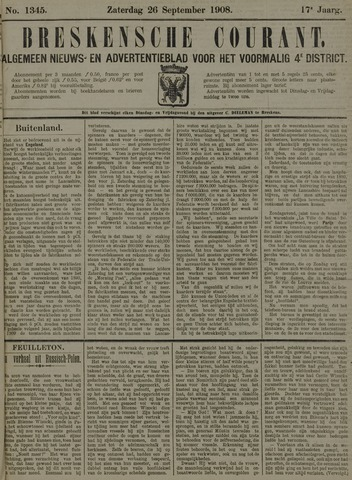 Breskensche Courant 1908-09-26