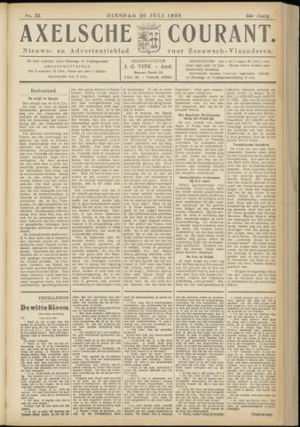 Axelsche Courant 1938-07-26