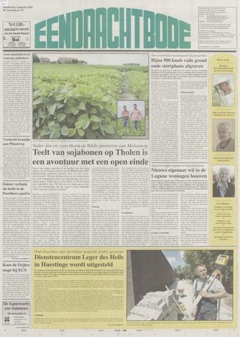 Eendrachtbode (1945-heden)/Mededeelingenblad voor het eiland Tholen (1944/45) 2010-08-05