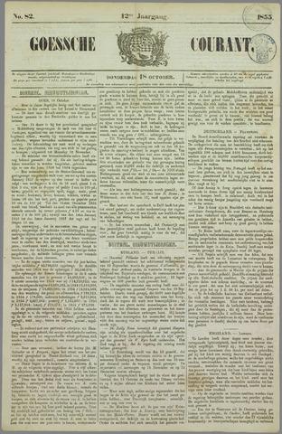 Goessche Courant 1855-10-18