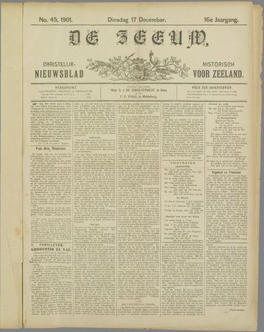 De Zeeuw. Christelijk-historisch nieuwsblad voor Zeeland 1901-12-17