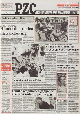 Provinciale Zeeuwse Courant 1988-08-22