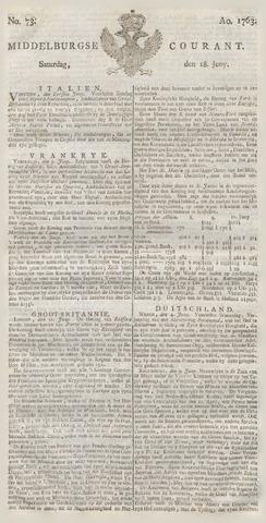 Middelburgsche Courant 1763-06-18
