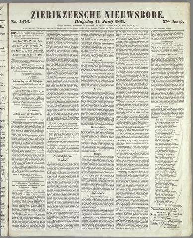 Zierikzeesche Nieuwsbode 1881-06-14
