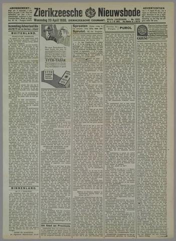 Zierikzeesche Nieuwsbode 1930-04-23