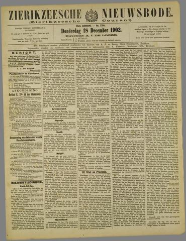 Zierikzeesche Nieuwsbode 1902-12-18