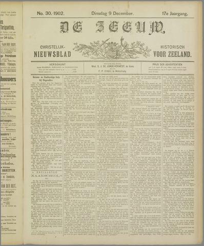 De Zeeuw. Christelijk-historisch nieuwsblad voor Zeeland 1902-12-09