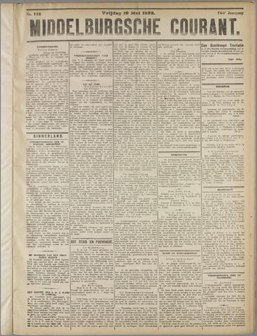 Middelburgsche Courant 1922-05-19