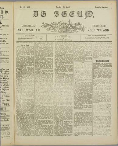 De Zeeuw. Christelijk-historisch nieuwsblad voor Zeeland 1898-04-23