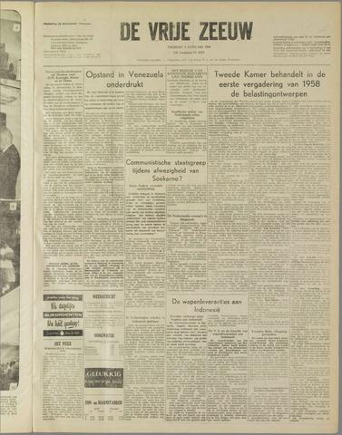de Vrije Zeeuw 1958-01-03
