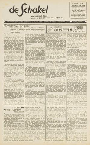 De Schakel 1962-08-31