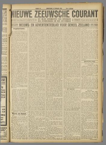 Nieuwe Zeeuwsche Courant 1924-02-14
