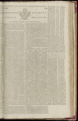 Middelburgsche Courant 1795-08-22