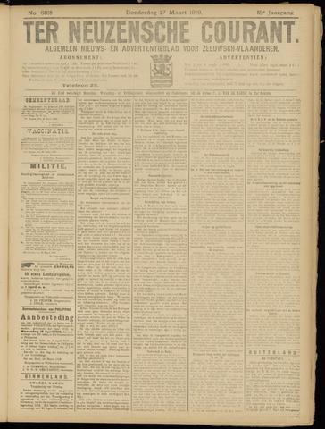 Ter Neuzensche Courant. Algemeen Nieuws- en Advertentieblad voor Zeeuwsch-Vlaanderen / Neuzensche Courant ... (idem) / (Algemeen) nieuws en advertentieblad voor Zeeuwsch-Vlaanderen 1919-03-27