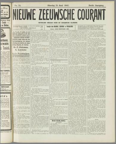 Nieuwe Zeeuwsche Courant 1907-06-25