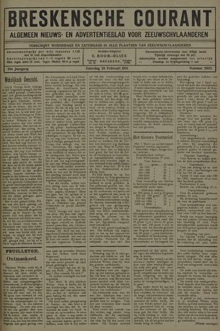 Breskensche Courant 1921-02-26
