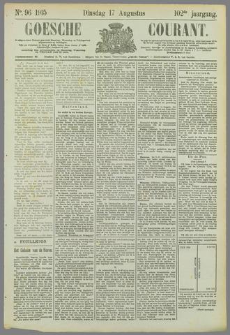 Goessche Courant 1915-08-17