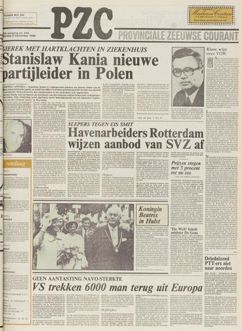 Provinciale Zeeuwse Courant 1980-09-06