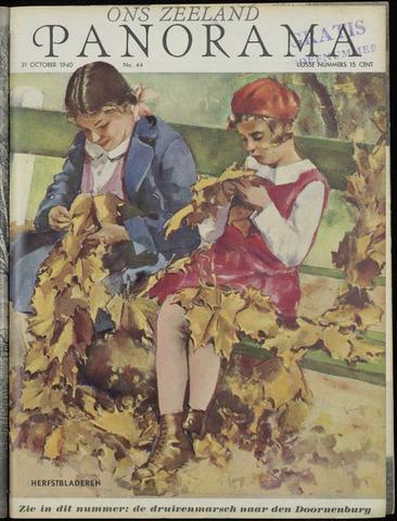 Ons Zeeland / Zeeuwsche editie 1940-10-31
