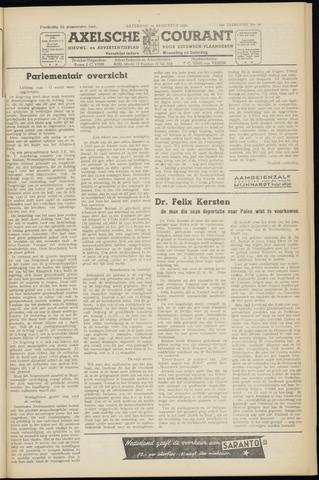 Axelsche Courant 1950-08-19