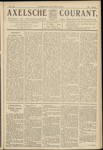 Axelsche Courant 1934-06-19