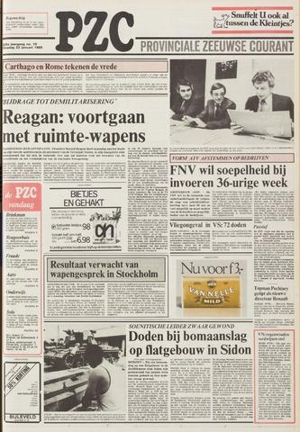 Provinciale Zeeuwse Courant 1985-01-22
