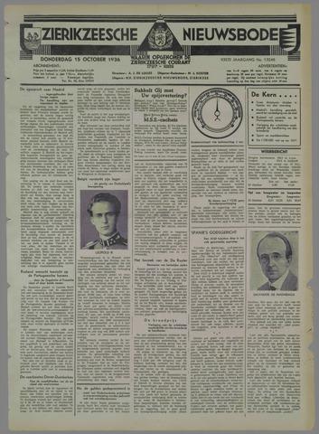 Zierikzeesche Nieuwsbode 1936-10-15