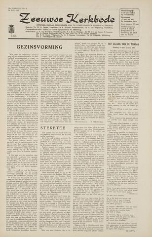 Zeeuwsche kerkbode, weekblad gewijd aan de belangen der gereformeerde kerken/ Zeeuwsch kerkblad 1965-07-16