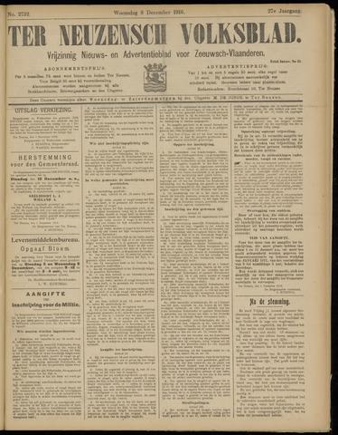 Ter Neuzensch Volksblad. Vrijzinnig nieuws- en advertentieblad voor Zeeuwsch- Vlaanderen / Zeeuwsch Nieuwsblad. Nieuws- en advertentieblad voor Zeeland 1916-12-06