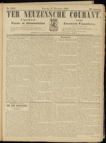 Ter Neuzensche Courant. Algemeen Nieuws- en Advertentieblad voor Zeeuwsch-Vlaanderen / Neuzensche Courant ... (idem) / (Algemeen) nieuws en advertentieblad voor Zeeuwsch-Vlaanderen 1895-12-21