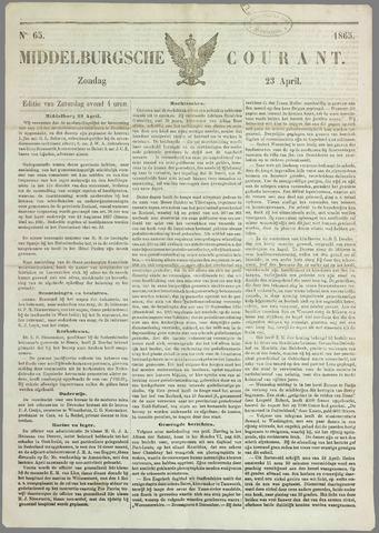 Middelburgsche Courant 1865-04-23