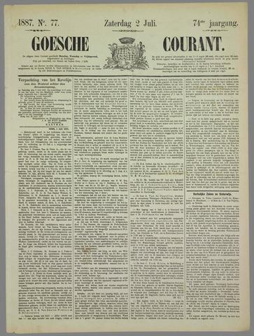 Goessche Courant 1887-07-02