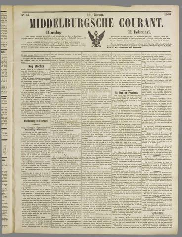 Middelburgsche Courant 1908-02-11