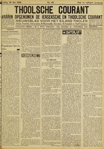 Ierseksche en Thoolsche Courant 1936-05-29