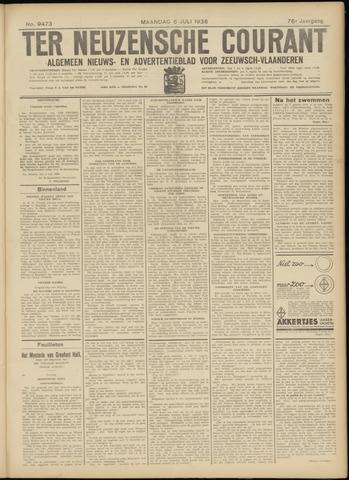 Ter Neuzensche Courant. Algemeen Nieuws- en Advertentieblad voor Zeeuwsch-Vlaanderen / Neuzensche Courant ... (idem) / (Algemeen) nieuws en advertentieblad voor Zeeuwsch-Vlaanderen 1936-07-06