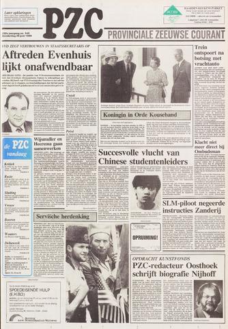 Provinciale Zeeuwse Courant 1989-06-29